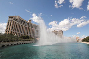 Fountains of Bellagio at Las Vegas Strip