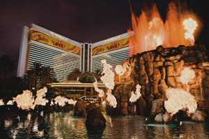 Volcano at The Mirage at Las Vegas Strip