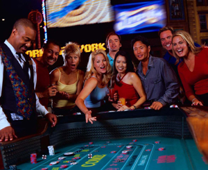 Craps on casino in Las Vegas