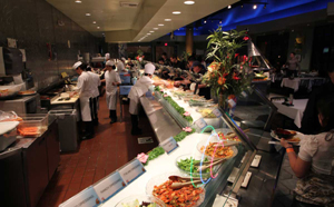 Todai sea foof buffet, planet hollywod Las Vegas Strip