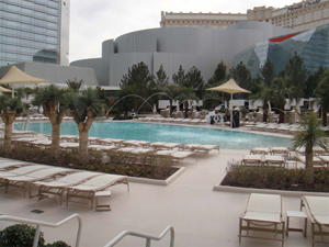 Aria Las Vegas pools
