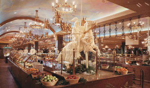 Excalibur buffet in Las Vegas