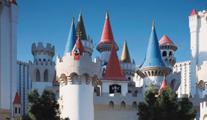 Excalibur towers, Las Vegas