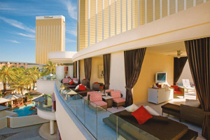 The Hotel and Mandalay Bay cabanas in Las Vegas