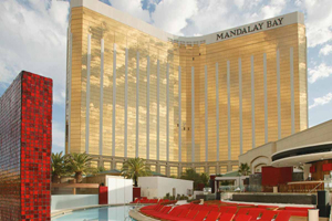 Mandalay Bay and Moorea beach in Las Vegas