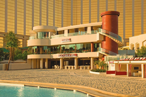 Mandalay Bay beach casino and bar in Las Vegas