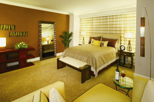 Mandalay bay hotel suite in Las Vegas