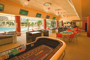 Mandalay Bay casino with craps in Las Vegas