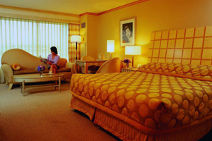 MGM Grands deluxe room in Las Vegas