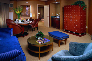 MGM Grands Hollywood suite in Las Vegas