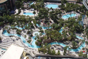 MGM Grand pool and Lazy River in Las Vegas
