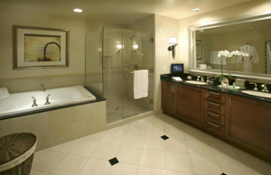 Bathroom at Signature MGM Las Vegas