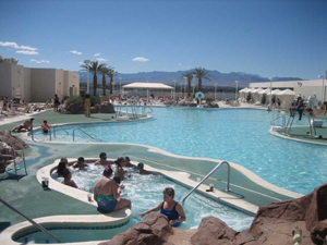 Pool at Stratosphere hotel
