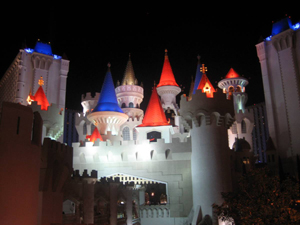 Excalibur casino at Las Vegas Strip
