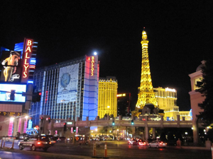 Ballys and Paris at Las Vegas Strip