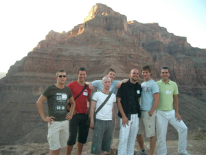 Group photo Grand Canyon Arizona