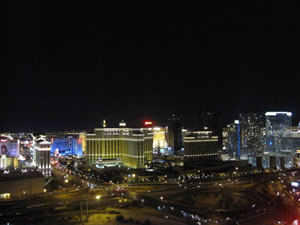 Voodoo at RIO, View over Las Vegas Strip