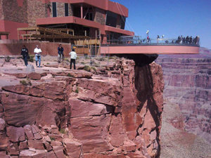 Grand Canyons west skywalk