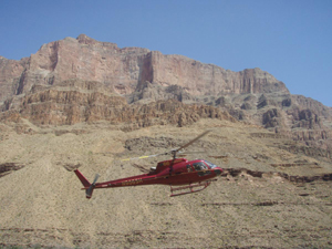 Helicopter to Grand Canyon from Las Vegas