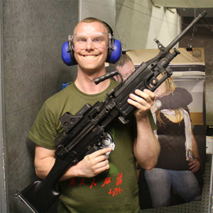 Las Vegas Gun Store machine gun