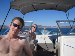boat lake mead