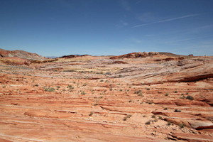 Valley of fire pamoramic
