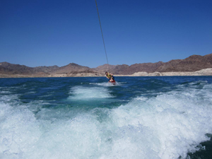 Wakeboard on Lake Mead i Las Vegas